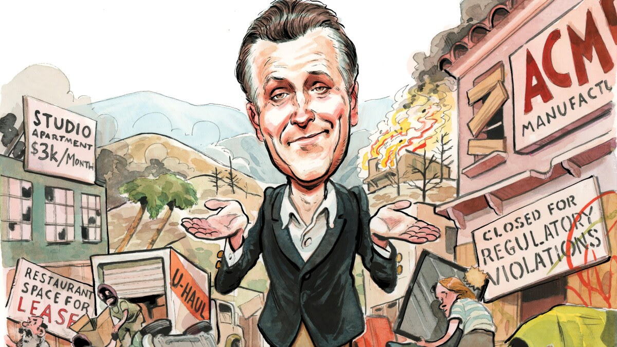Newsom pushes Californians to the brink
