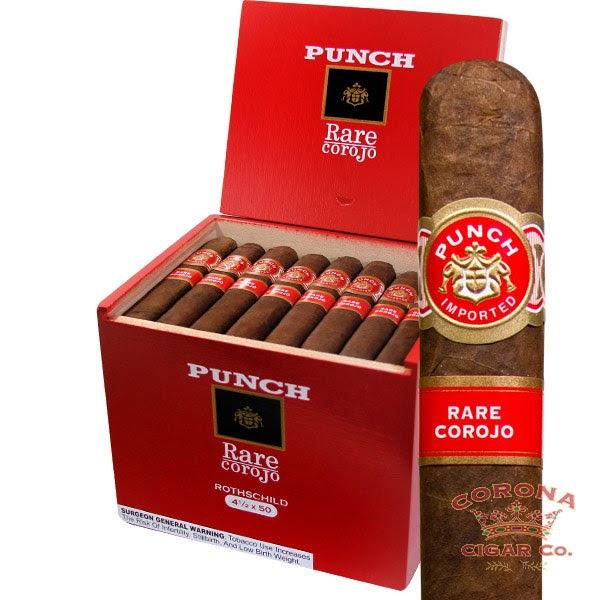 Image of Punch Rothschild Rare Corojo Cigars