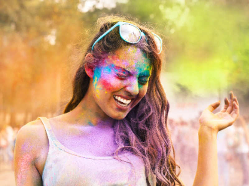 Image result for Ways to protect skin, hair on Holi