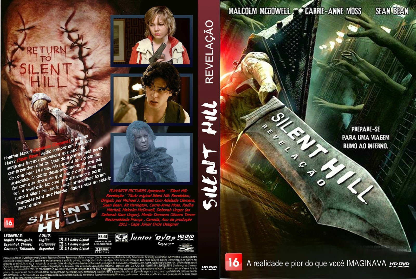 Silent Hill Revelação Torrent – BluRay Rip 720p | 1080p Dual Áudio 5.1 (2014)