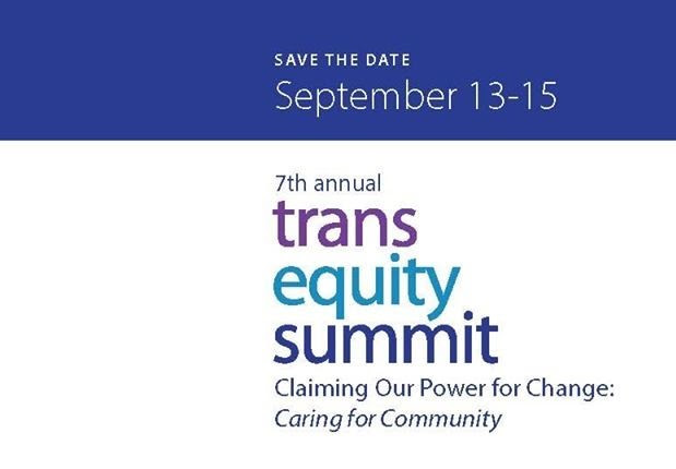 image of the trans equity summit save the date