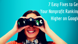 Ranking Higher on Google - 7 Easy Fixes for your Nonprofit