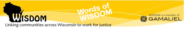 WISDOM - Linking Communities across Wisconsin to Work for Justice