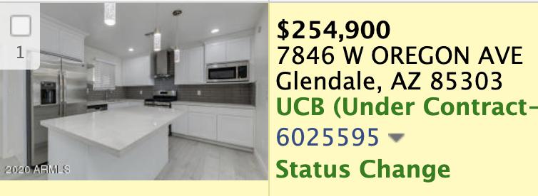 Comparable property listing to 7841 W Georgia Ave Glendale, AZ 85303