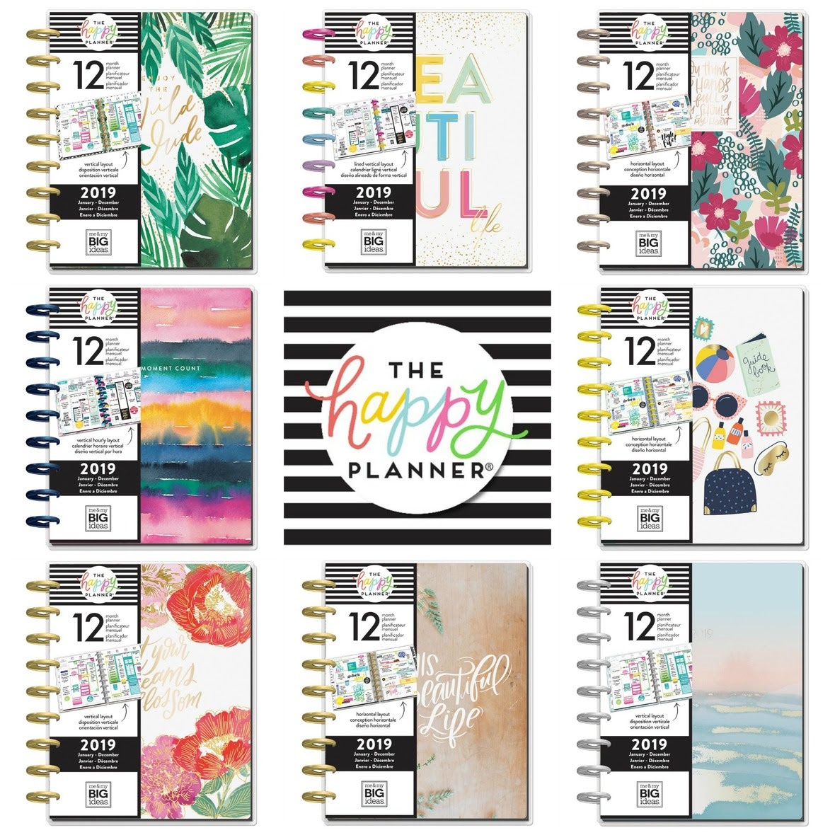 PicMonkey Collage happy planner 2019