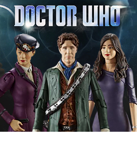 DOCTOR WHO 5.5 INCH SERIES FIGURES