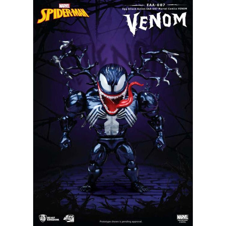 Image of Marvel Egg Attack Action EAA-087 Venom PX Exclusive