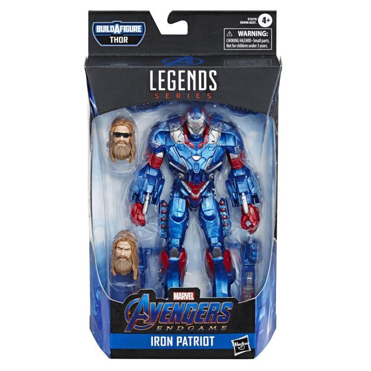 Image of Avengers: Endgame Marvel Legends 6-Inch Action Figures Wave 3 (Fat Thor BAF) - Iron Patriot
