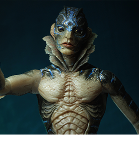 The Shape of Water Guillermo del Toro Signature Collection Amphibian Man