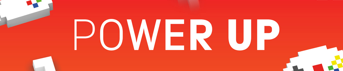 banner of power up logo
