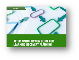 After Action Review Guide for Learning Recovery Planning coverpage