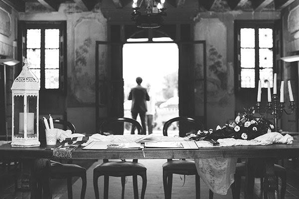 Allestimento sala civile per matrimonio anni 50