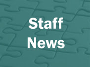 image of the words staff news