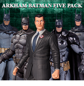 BATMAN ARKHAM FIVE PACK