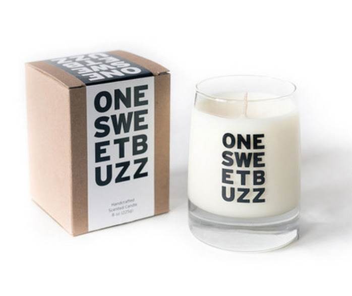 One Sweet Buzz Candle