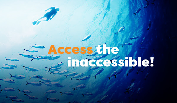 Access the inaccessible!