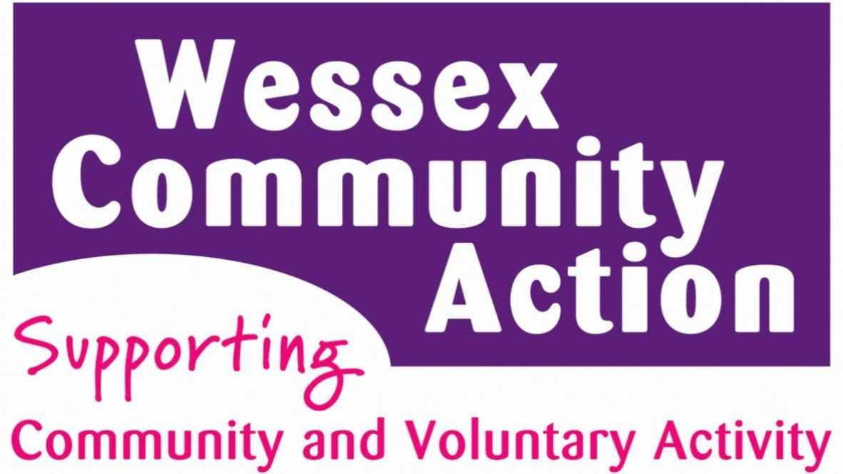 Wessex Community Action logo. Supporting Community and Voluntary Activity