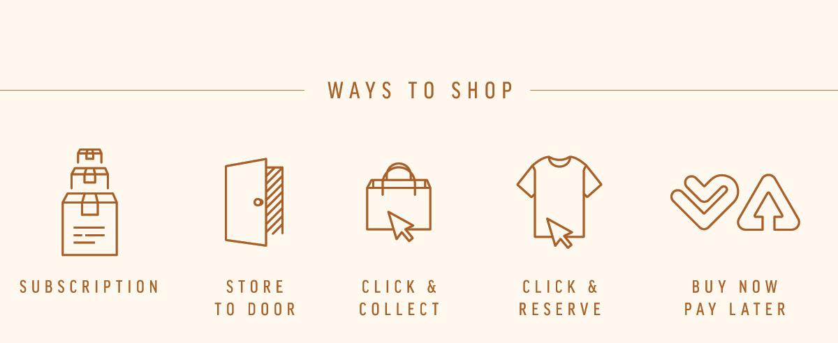 Help: Ways To Shop