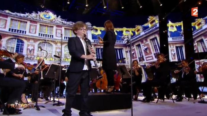 "VIDEO. Marin, 12 ans, le clarinettiste qui a bluffé le jury de ""Prodiges"" sur France 2"