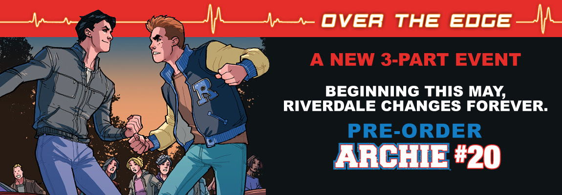 Pre-Order OVER THE EDGE PART ONE!