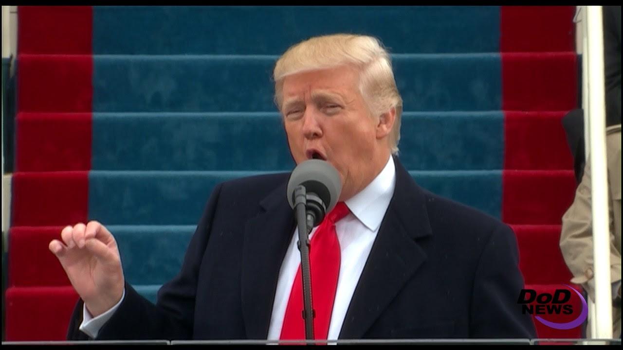 Trump Gives Inaugural Address to Nation