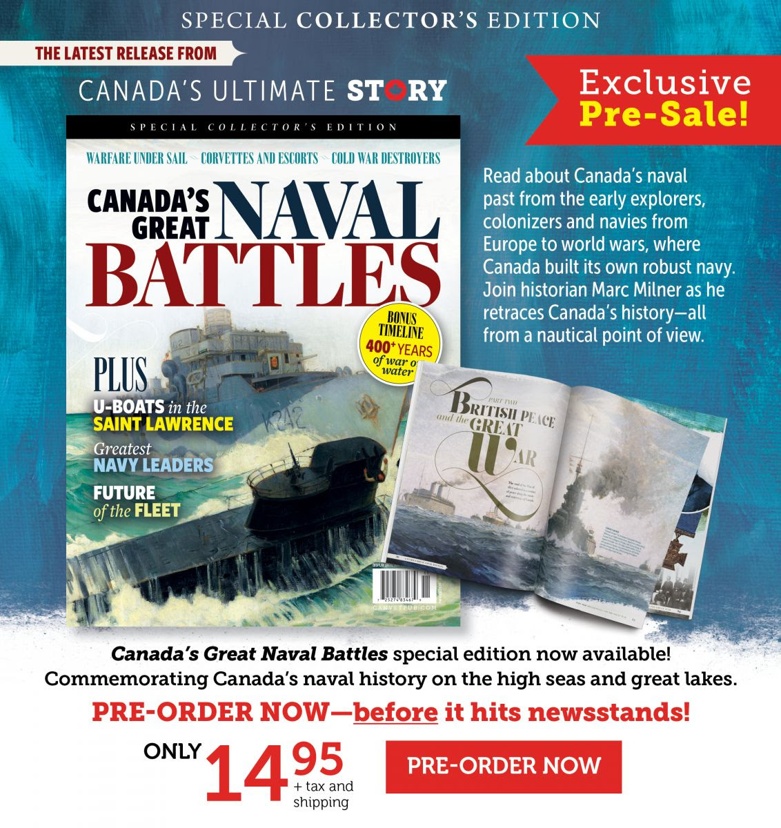 Canada's Great Naval Battles