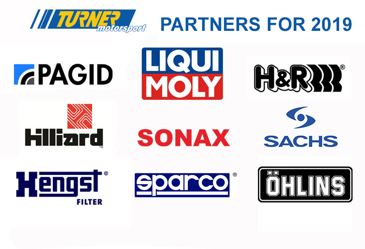 Turner Motorsport Race Partners 2019