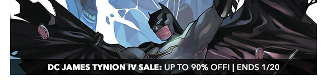 DC James Tynion IV Sale: up to 90% off! | Ends 1/20