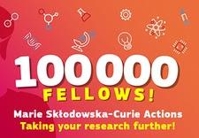 100,000 fellows - Marie Skłodowska-Curie Actions