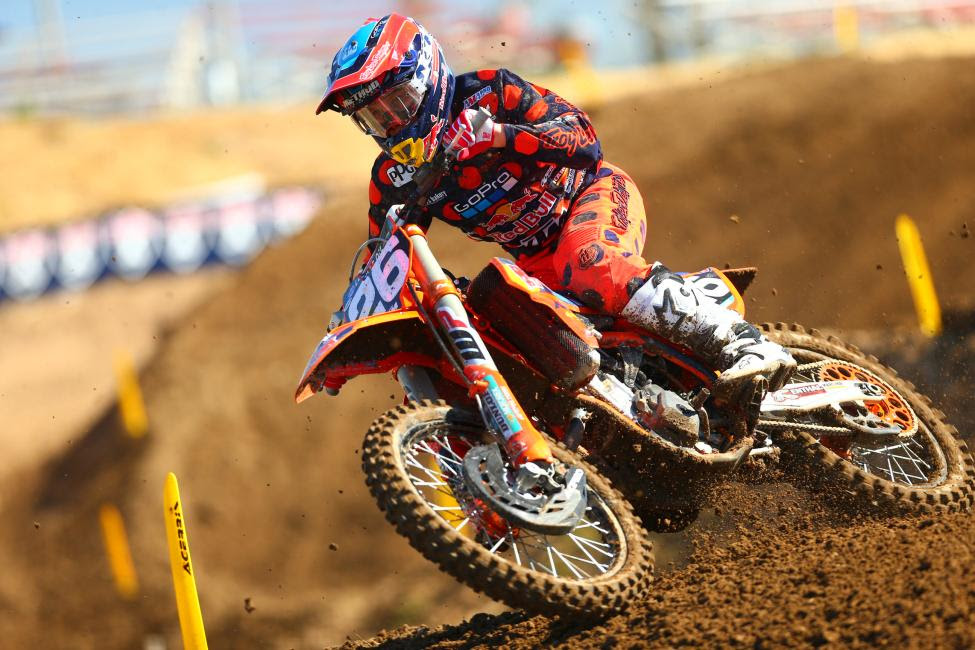 Alex Martin's 4-4 results were good enough for second overall.Photo: Jeff Kardas