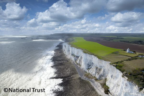 White Cliffs of Dover - copyright National Trust