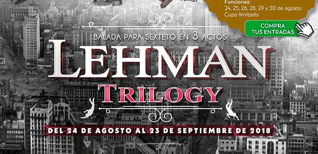 Balada para sexteto en 3 actos. Lehman Trilogy. Compra tus entradas