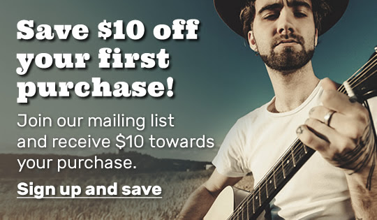 Save $10 off your first purchase! Join our mailing list and receive $10 towards your purchase.