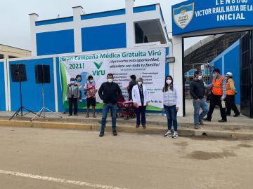 Virú S. A. realiza Campaña Médica Gratuita y descartes de Covid-19
