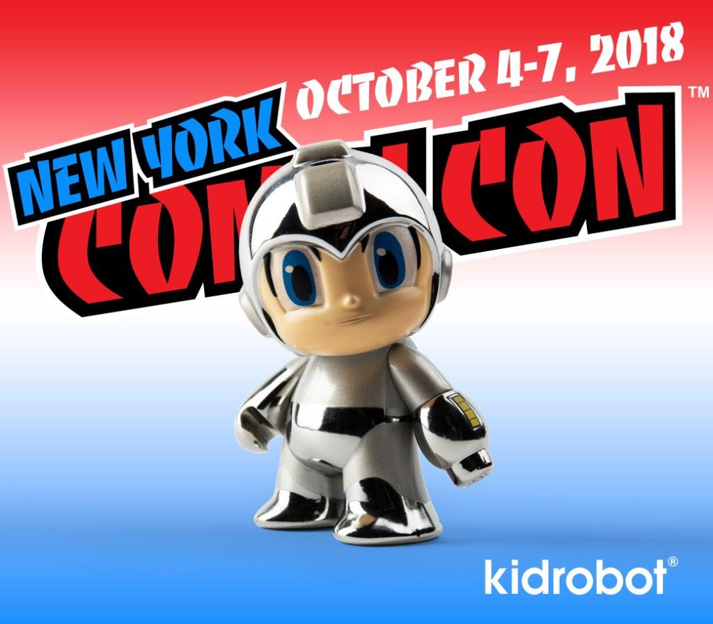 Kidrobot NYCC MegaMan Exclusive