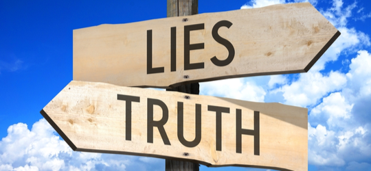Truth Lies Post