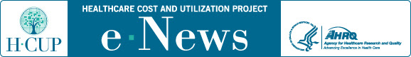 Healthcare Cost and Utilization Project e-News bulletin logo
