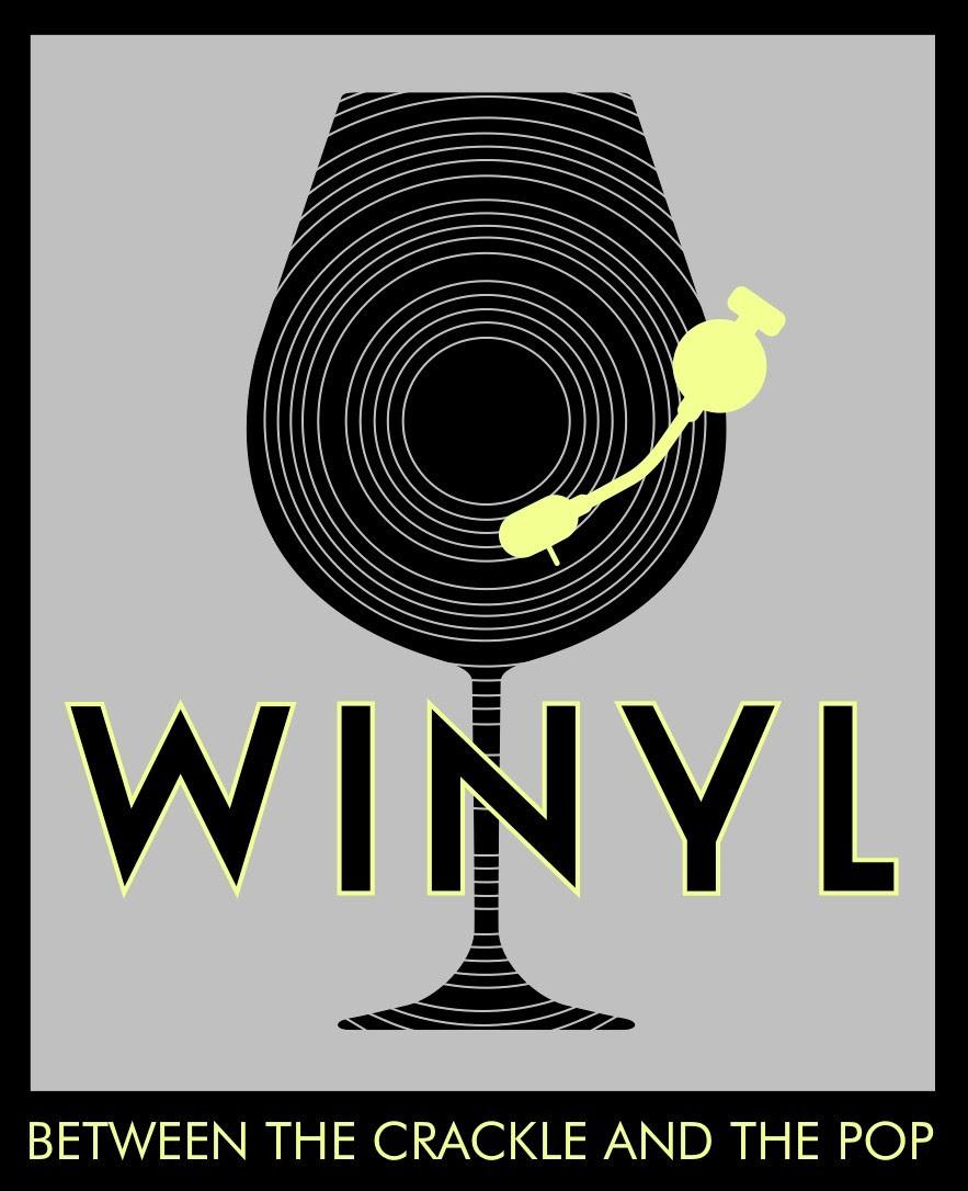 winyl logo gray