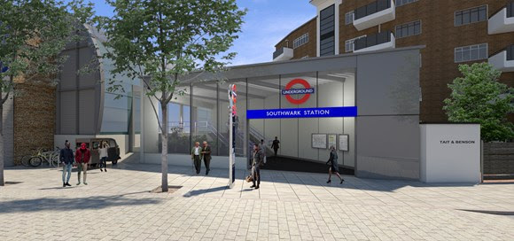 TfL Press Release - TfL consults on new second entrance at Southwark Tube station