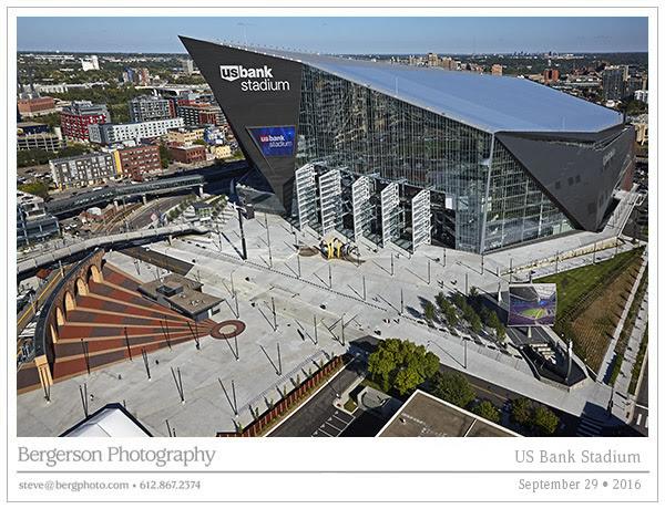 US Bank Stadium Progress