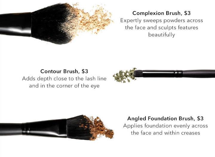 Complexion Brush - Contour Brush - Angled Foundation Brush
