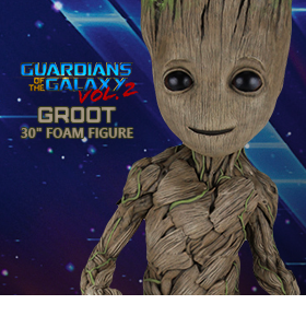 "GUARDIANS OF THE GALAXY VOL. 2 30"" GROOT"