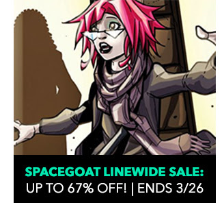 Spacegoat Linewide Sale: up to 50% off! Sale ends 3/26.