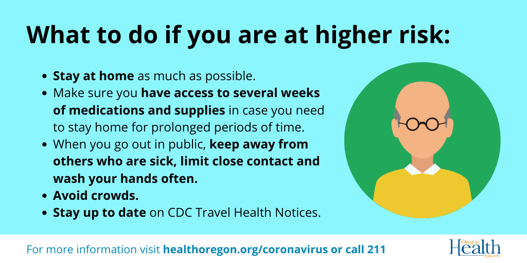 How seniors can lower their risk of contracting coronavirus.