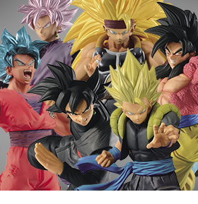 NEW DRAGON BALL BANPRESTO FIGURES