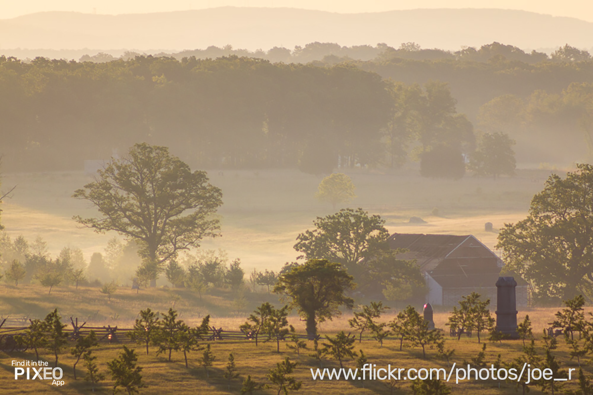 Gettysburg Photo Location from JC Russo