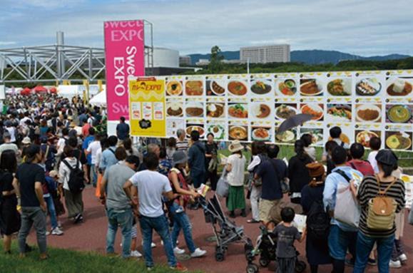第2回は3日間で約50,000人が来場した人気イベント「カレーEXPO」