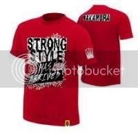 Shinsuke Nakamura Strong Style Has Arrived T-Shirt