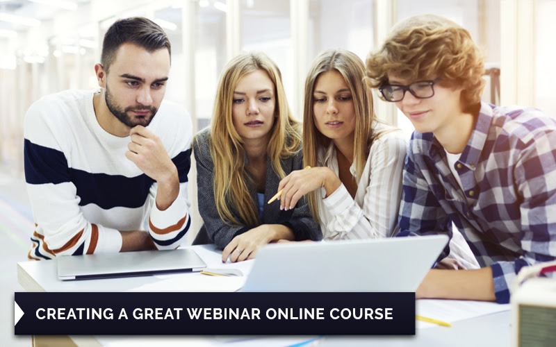 Course 4:Certificate In Creating a Great Webinar Online Course