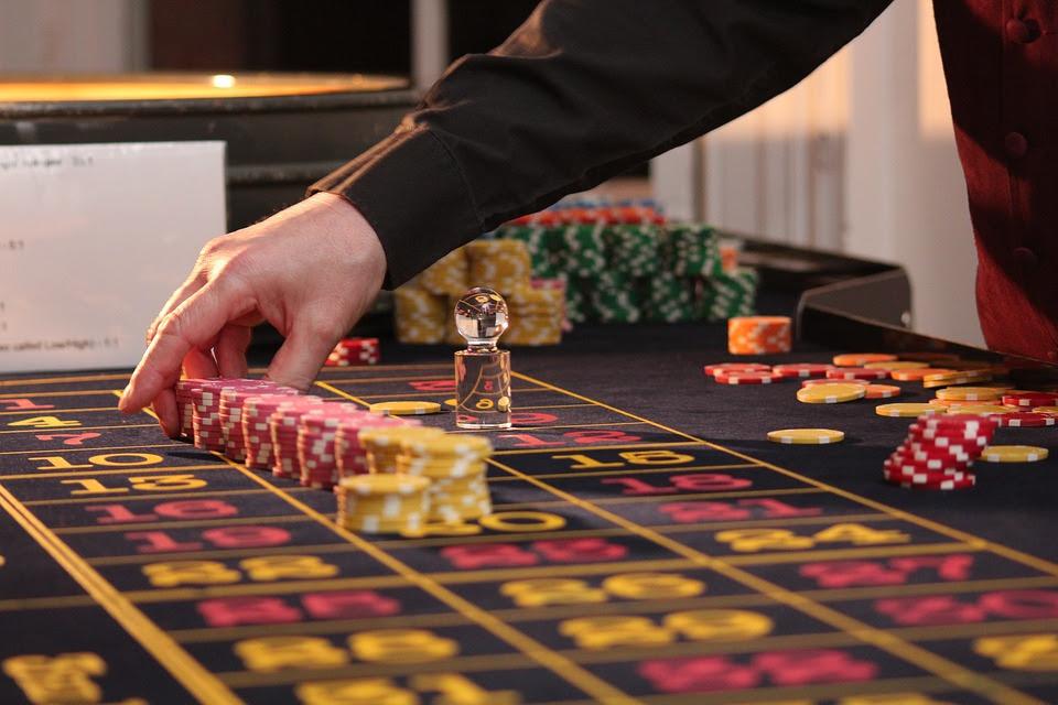 Рулетка, Стол, Микросхемы, Казино, Игры, Азартные Игры